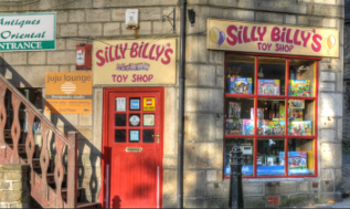 The Old Silly Billy's Toy Shop