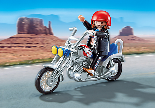 All New Playmobil Motorcycles