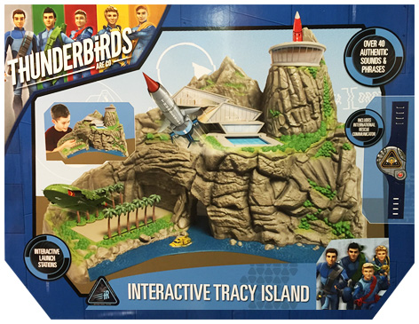 Thunderbirds Interactive Tracy Island