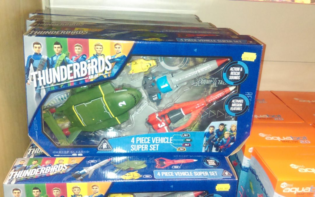Thunderbirds Vehicle Set Competition Winner