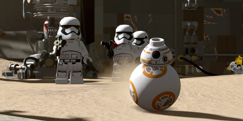 Lego is releasing a 'Star Wars: The Force Awakens' video game