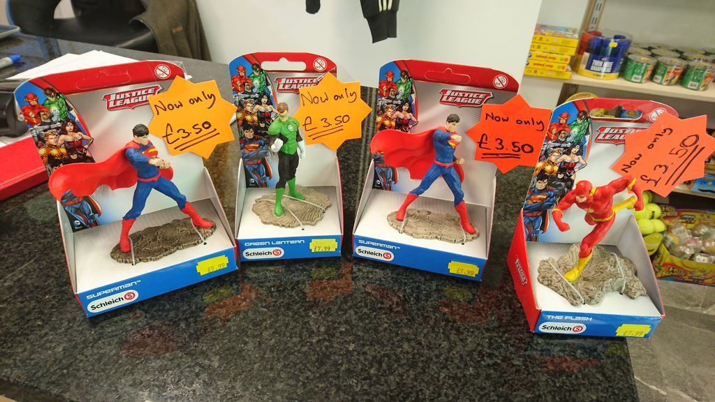Schleich Justice League