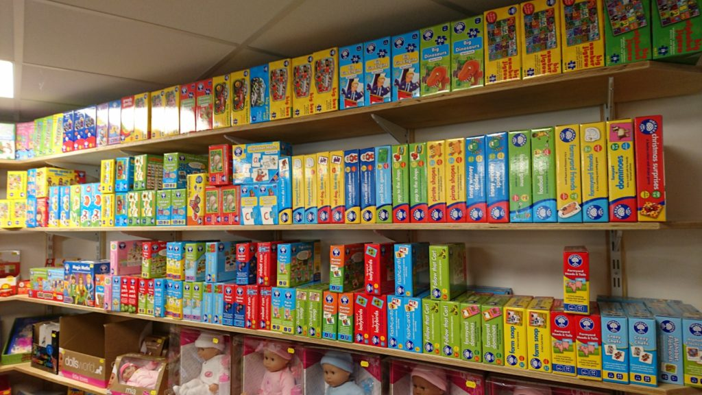 Orchard Toys wall