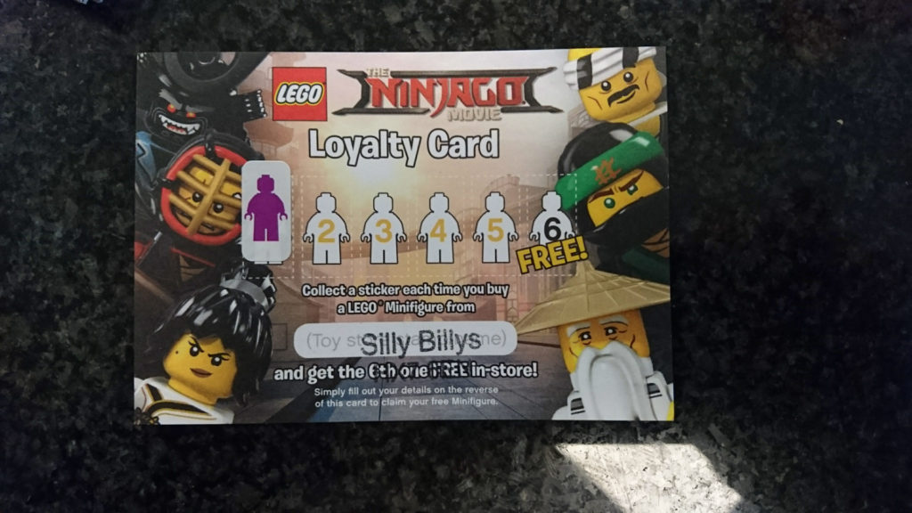 LEGO Ninjago Collectors Card