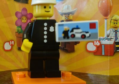 Minifigures 40th Anniversary Policeman